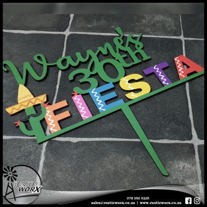 Cake Topper Fiesta