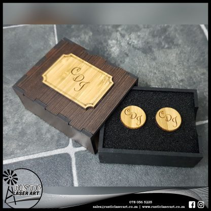 Cuff Links with Box 4778 3