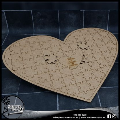 Custom Heart Puzzle Budget 10497
