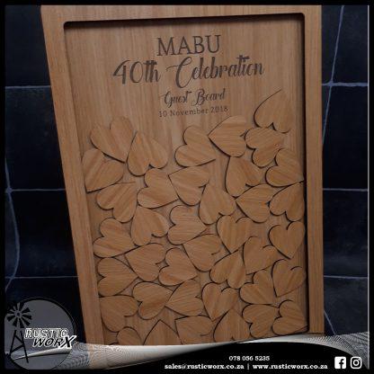 Guest Board A3 180401 Nat Oak