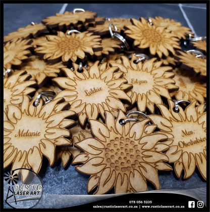 Keyrings MDF Flower 180409 4