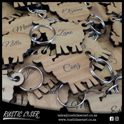 Keyrings Sheep Nat Oak 180139 7
