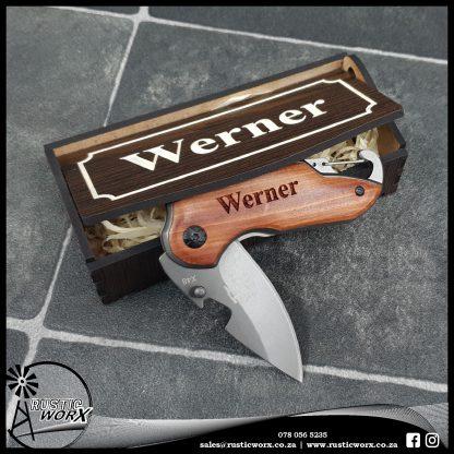 Personalised Pocket Knife Type 2 8704 3
