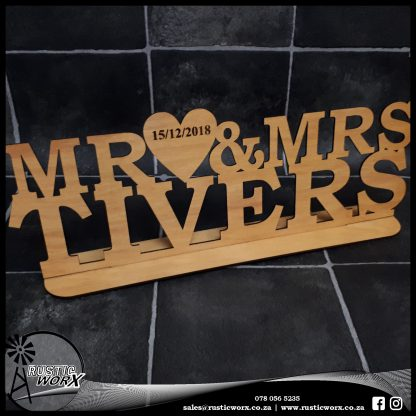 Mr Mrs Sign Commercial Ply 1641 1
