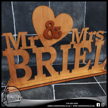Mr Mrs Sign Plywood 1635 2 1