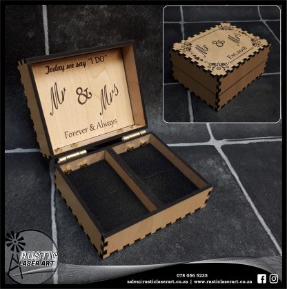 Rectangular Ring Box Sample Van Maple