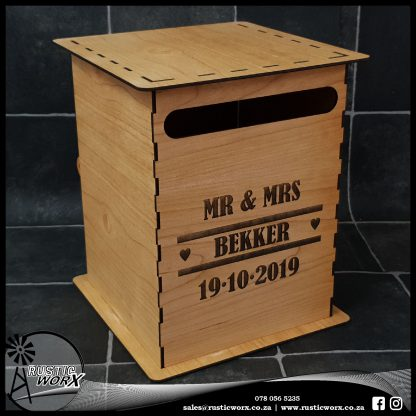 Wedding Mail Box Type 1 Cherry 5091