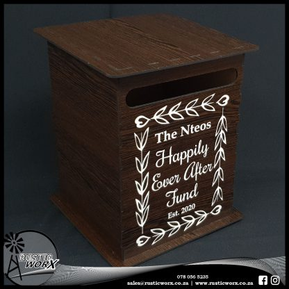 Wedding Mail Box Type 2 African Wenge 200059