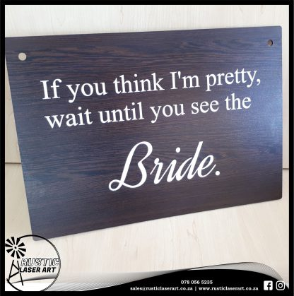 Wedding Signs African Wenge 730 2