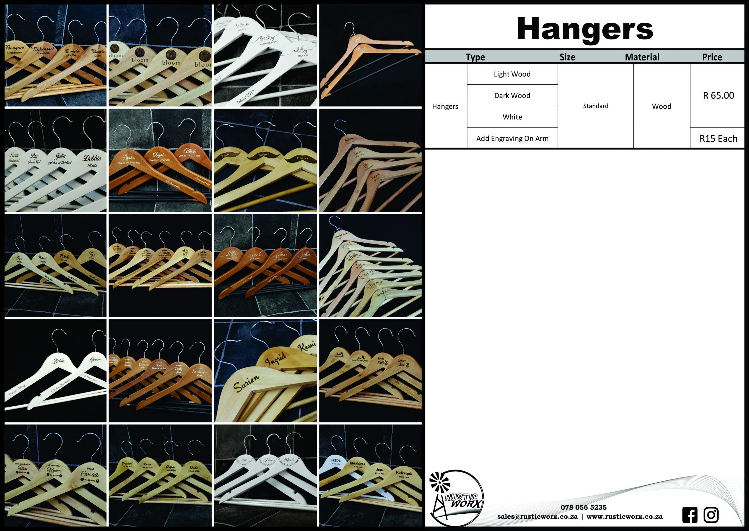 13 Hangers