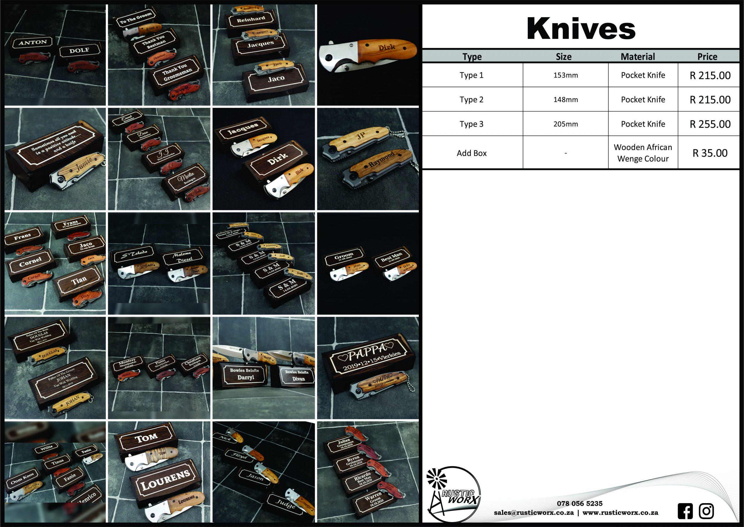 15 Knives