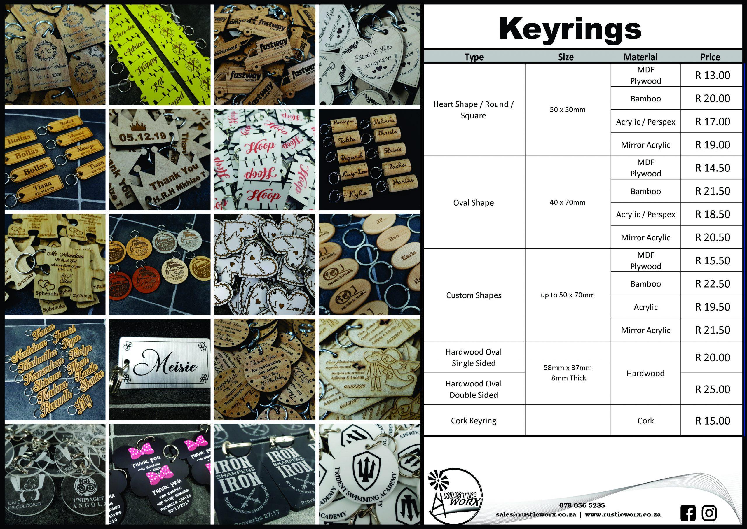 2 Keyrings