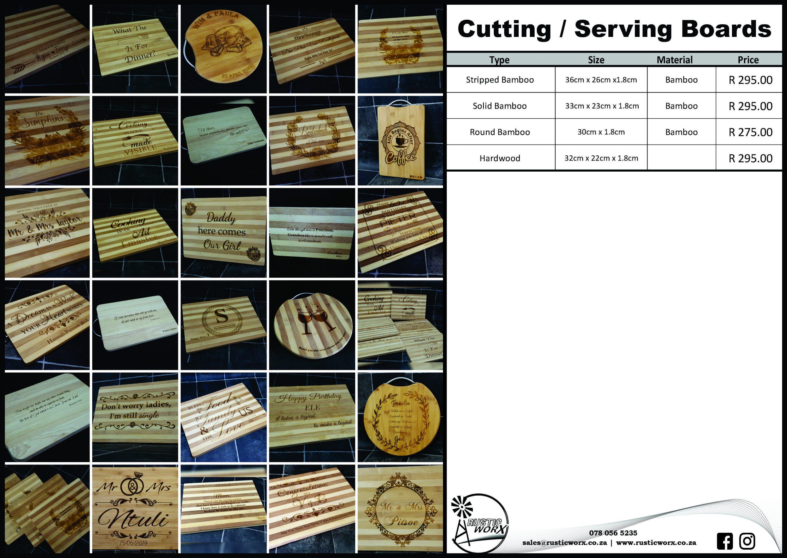 22 Cutting Boards