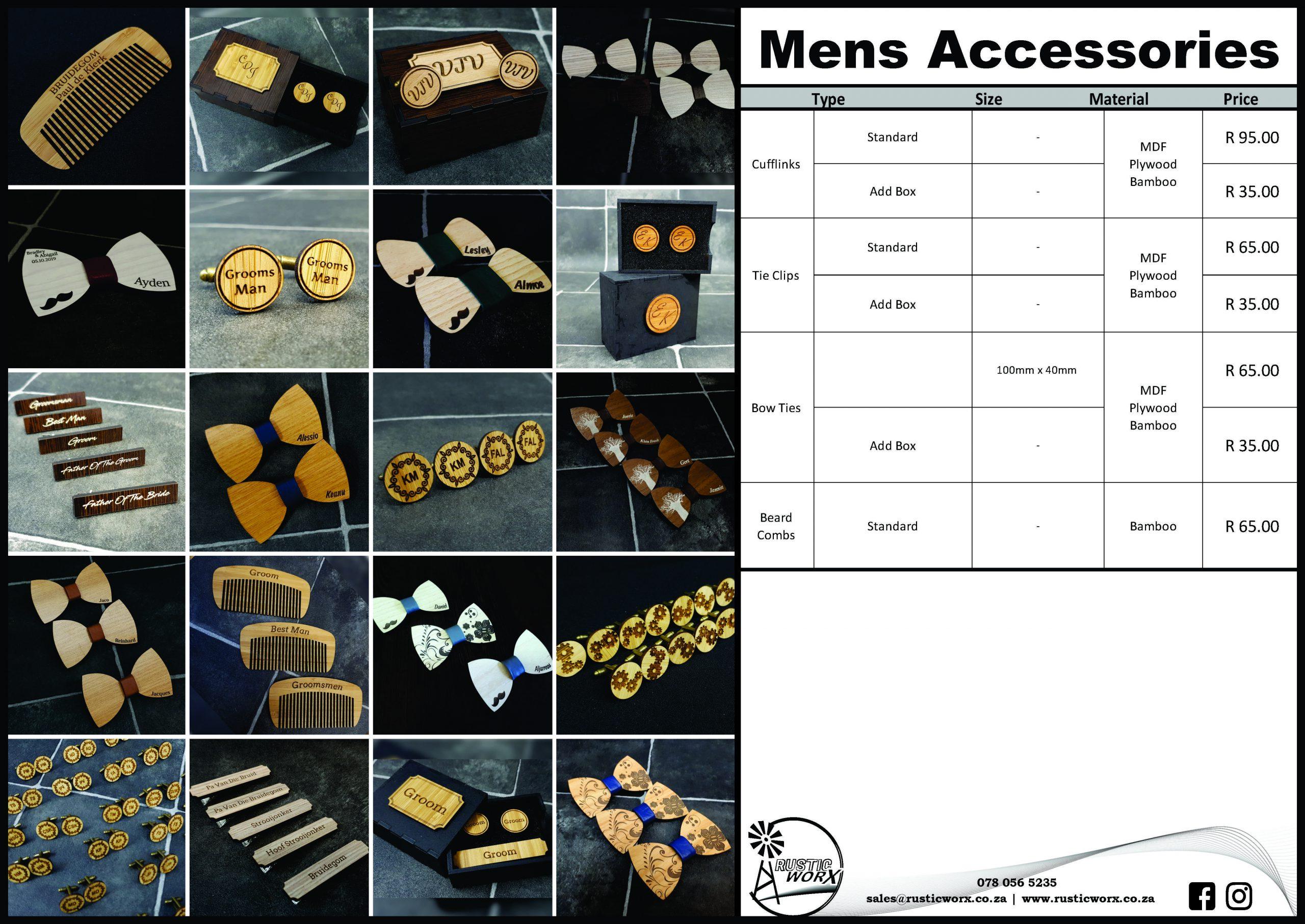 24 Mens Accessories