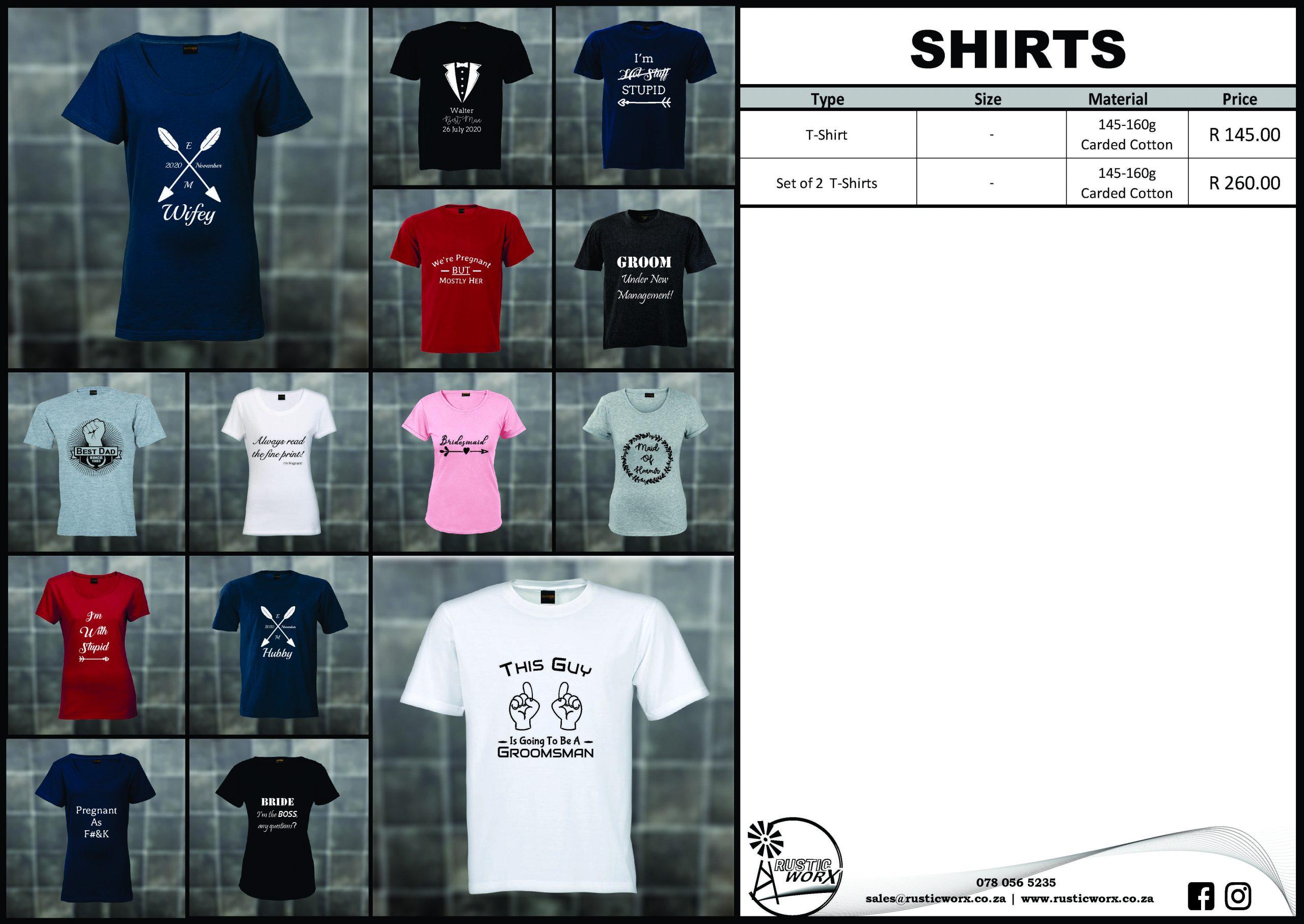 28 Shirts