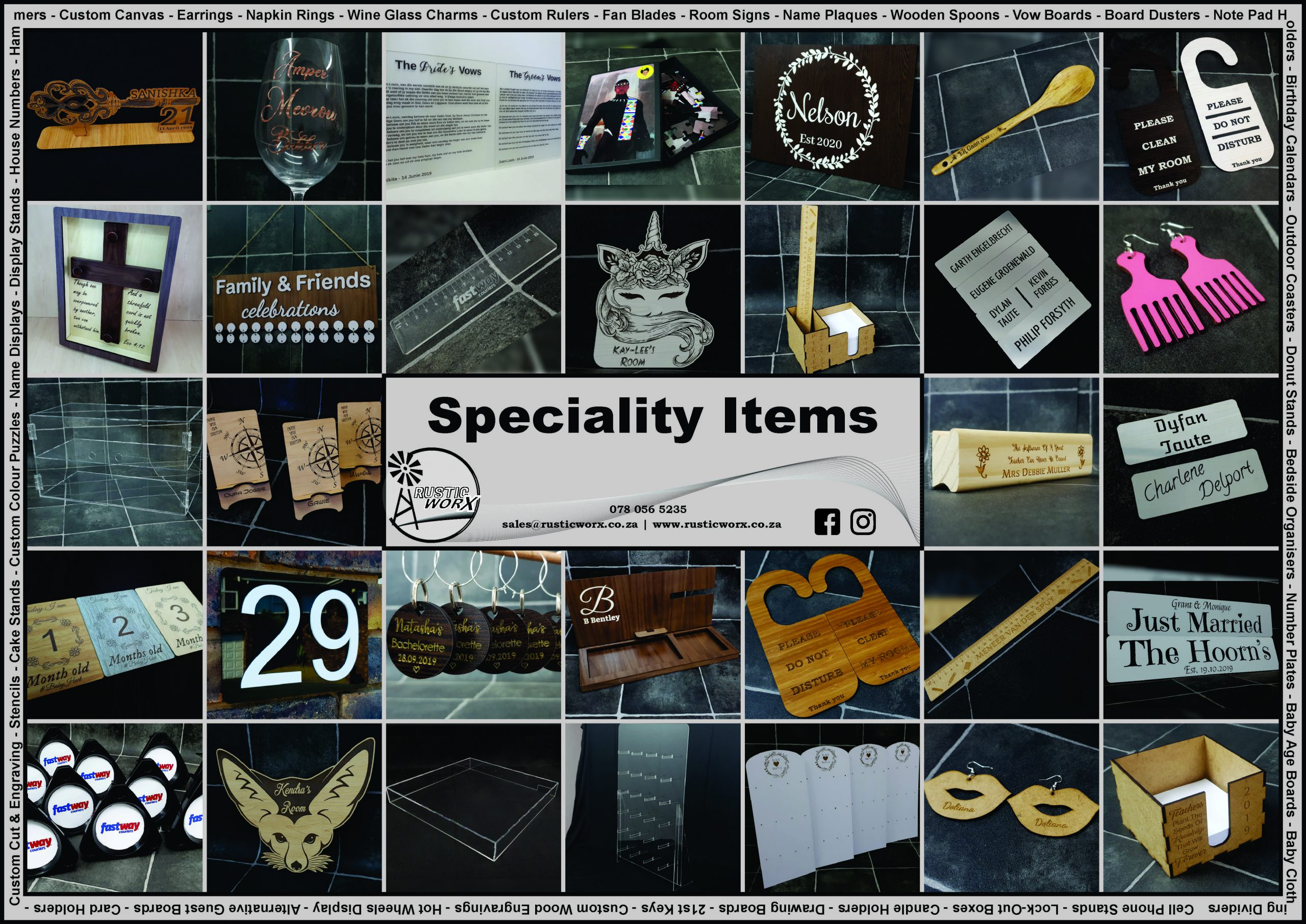 70 Speciality Items 2