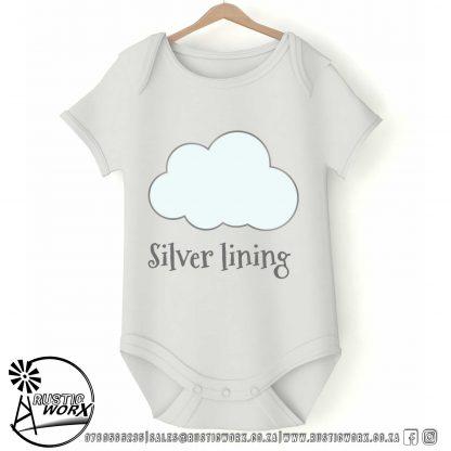 Onesie Silver lining