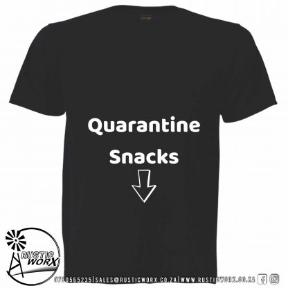 Quarantine Snacks T Shirt