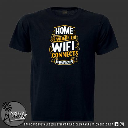 T Shirts Wifi Black