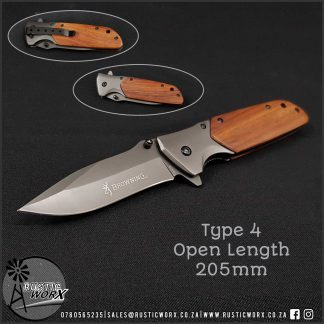 Type 4 Knife 205mm Open Length 1