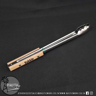 Custom Engraved Braai Tongs