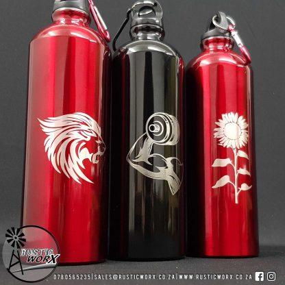 Engraved Personalised Water Bottles